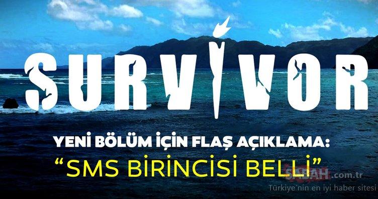Survivor yeni bölüm fragmanında flaş açıklama: Survivor SMS sıralaması birincisi belli!