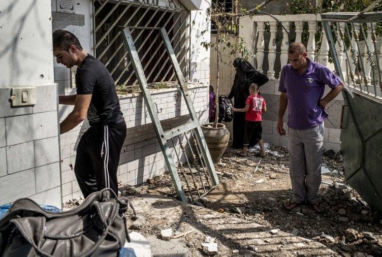 Gazzeliler bir kez daha yıkıldı