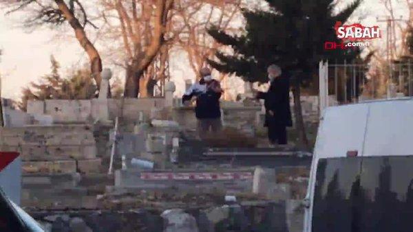Malatya'da mezarlıkta şaşkına çeviren olay!