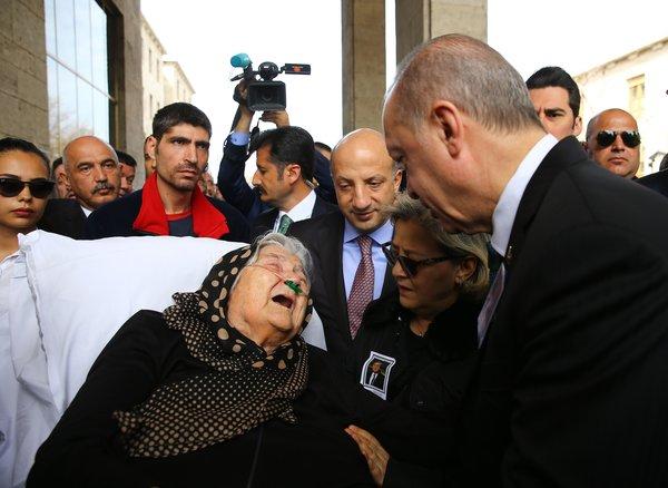 Hasan Celal Güzel için TBMM'de tören düzenlendi! Acılı annesinin büyük acısı...