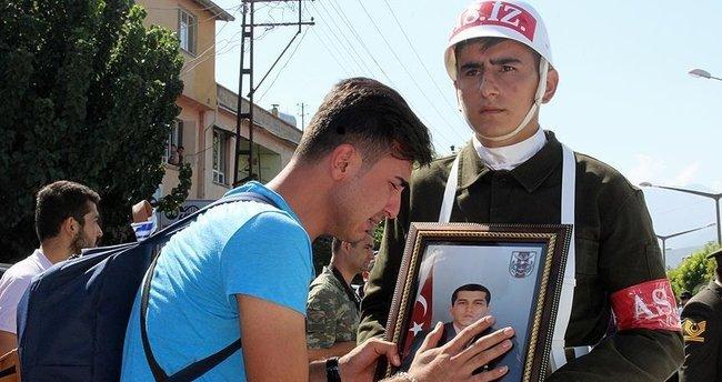 Jandarma Uzman Çavuş Çito'nun cenazesi toprağa verildi