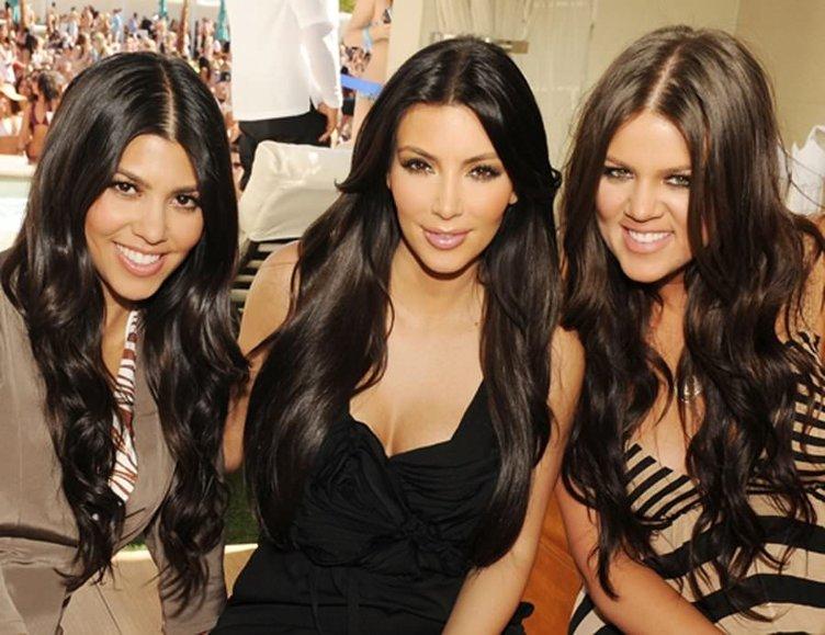 Kourtney Kardashian sabaha kadar eğlendi