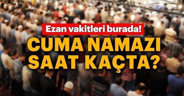 Cuma namazı bugün saat kaçta kılınacak? İstanbul, Ankara, İzmir ve il il cuma namaz saatleri