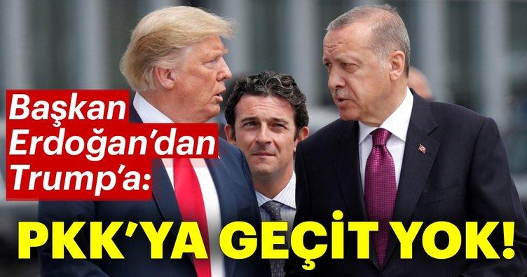 Son dakika: Başkan Erdoğan Trump ile görüştü