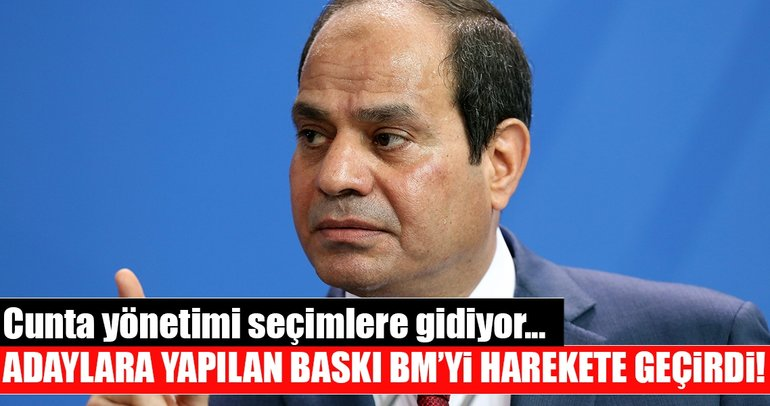 Mısır'da cunta yönetimi seçime gidiyor!