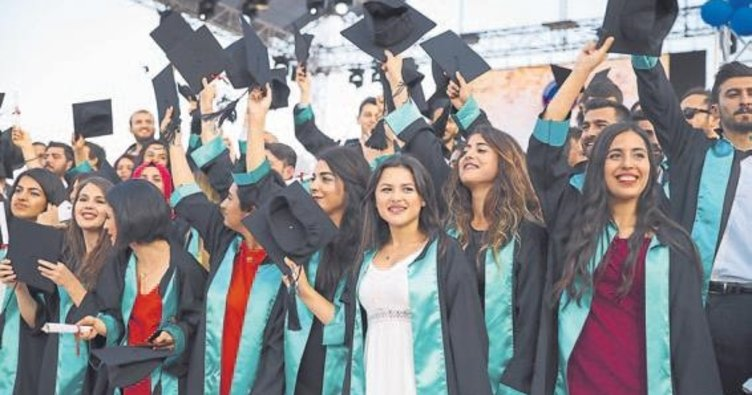 11 bin öğrenci kep attı