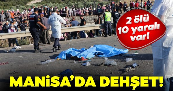 Son dakika: Manisa'da korkunç kaza! 2 ölü, 10 yaralı... - Galeri - Yaşam