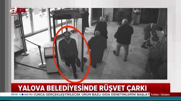 CHP'li Yalova Belediyesi'ndeki 22 Milyon TL'lik rüşvet çarkının şok görüntüleri ortaya çıktı | Video
