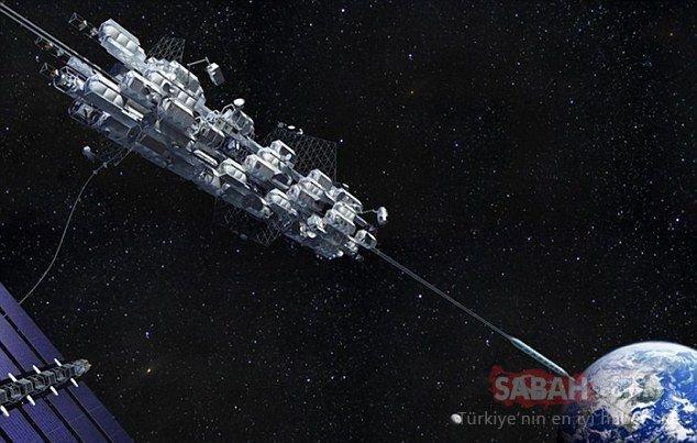 Uzay asansörü hayali gerçek oluyor!