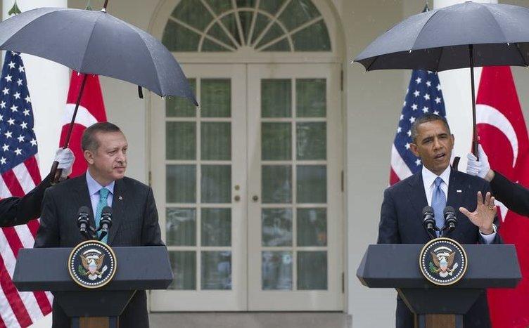 Erdoğan-Obama görüşmesinden kareler