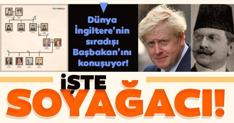 İngiltere'nin yeni Başbakanı Boris Johnson'un soyağacı...