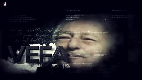 Beşiktaş'tan efsane başkan Süleyman Seba için ölümünün 6. yılında videolu mesaj... | Video