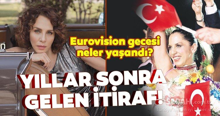 Sertab Erener'den yıllar sonra gelen itiraf! Sertab Erener Eurovision gecesi neler yaşandığını anlattı...