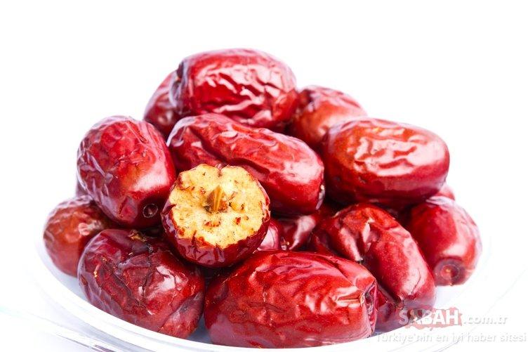 Bu besin vücudu tepeden tırnağa temizliyor! Kalsiyum deposu süper besin hünnap faydaları ile şaşırtıyor!