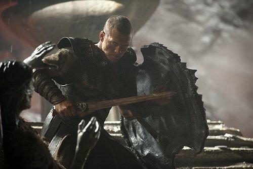 Titanların Savaşı filminden kareler