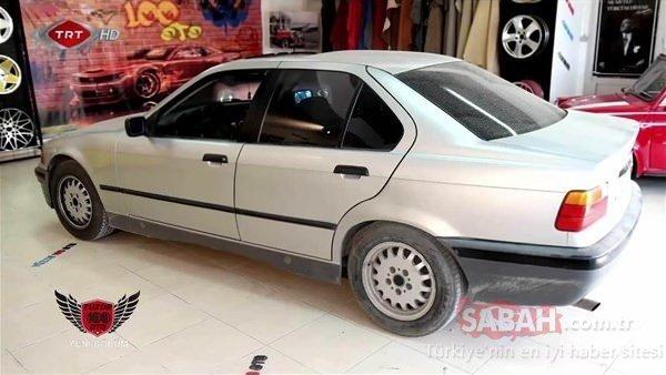 BMW'nin sahibini şaşırtan değişim!