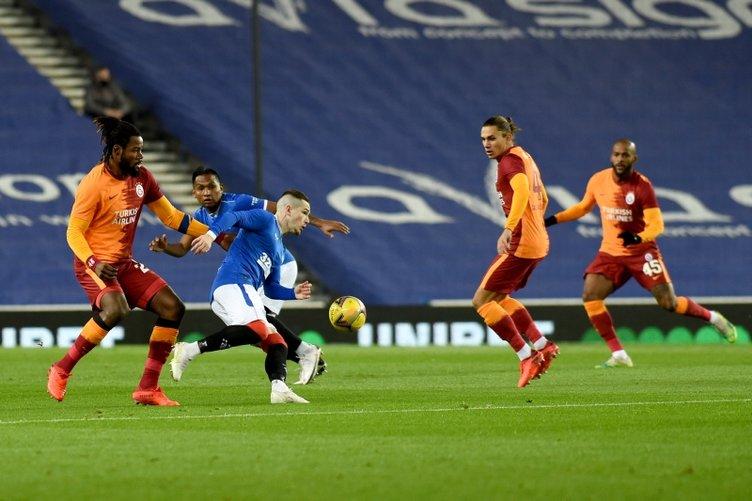 İşte Rangers - Galatasaray maçından kareler