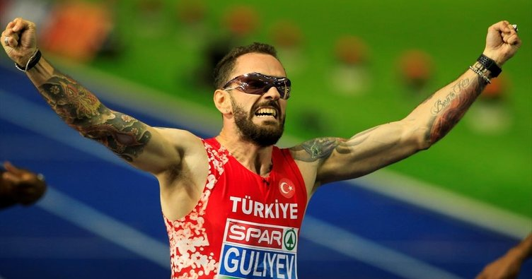 Ramil Guliyev'den harika finiş