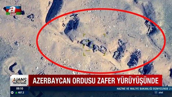 Son dakika! Tek tek böyle imha edildi: Azerbaycan - Ermenistan cephe hattında son durum! (25 Ekim 2020 Pazar) | Video