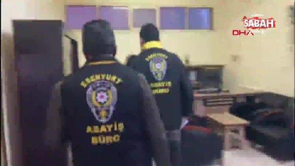 Üstü emlakçı, altı uyuşturucu serası; polisin operasyonu kamerada | Video
