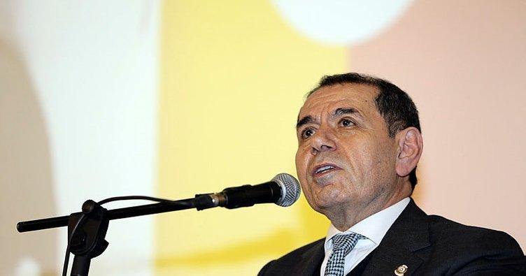 Dursun Özbek: Alacaklarım için Galatasaray'ı zora sokmam