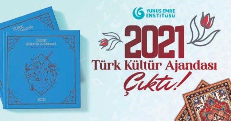 Türk kültür ajandasının ikincisi hazır