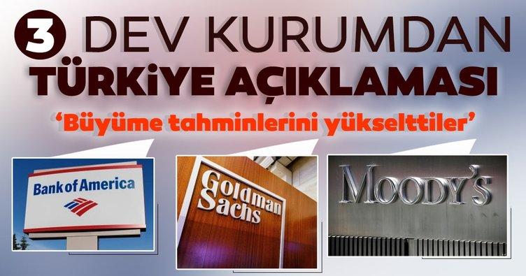 3 dev kurumdan Türkiye açıklaması: Büyüme tahminlerini yükselttiler!