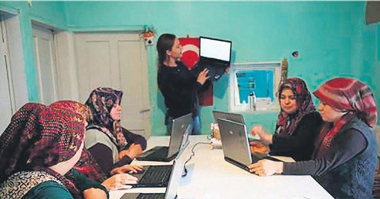Köylerde e-ticaret rüzgârı esiyor