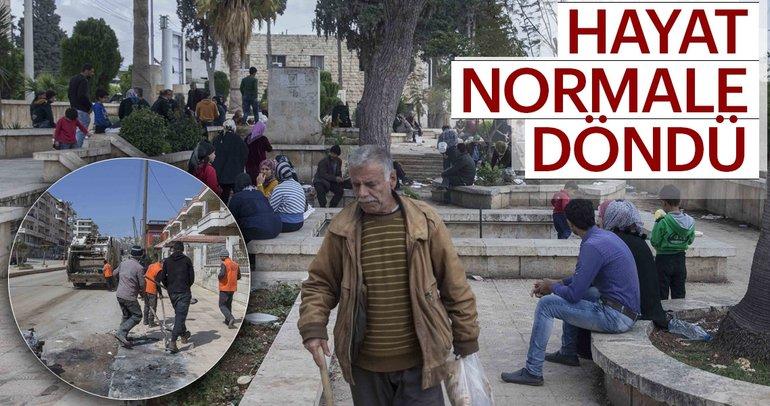 Son Dakika: Afrin'de terörün izleri siliniyor
