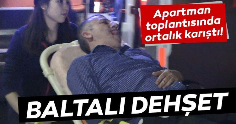 Son Dakika Haberi: Bursa'da baltalı dehşet! Apartman toplantısında ortalık karıştı