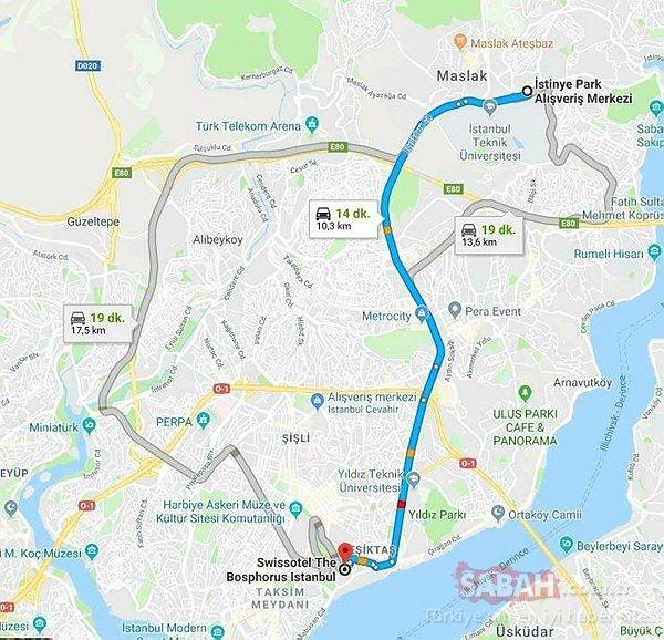 10 kilometrelik mesafeye 213 tl alan taksiciye dava
