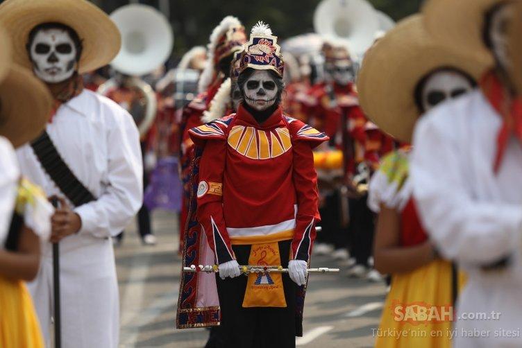 Meksika'da 'Ölüler Günü Festivali'