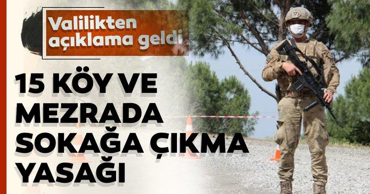 Son dakika: Bitlis'te 15 köy ve mezralarında sokağa çıkama yasağı ilan edildi