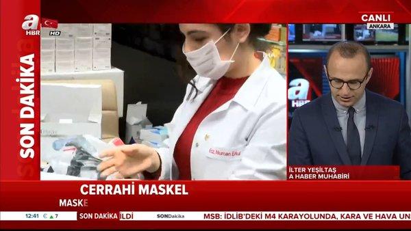 Ticaret Bakanlığı'ndan flaş maske fiyatı açıklaması! 50'lik paketler halinde... | Video