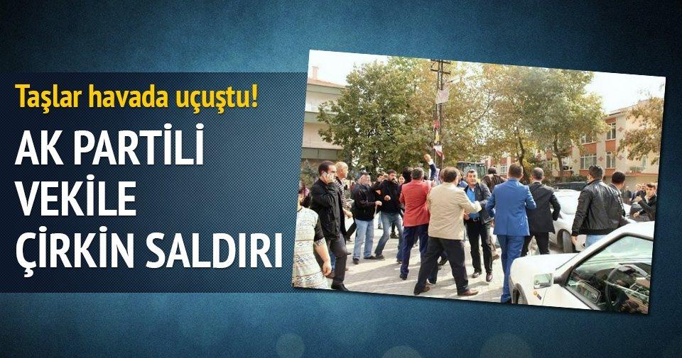 AK Partili vekil adayına Ankara'da çirkin saldırı