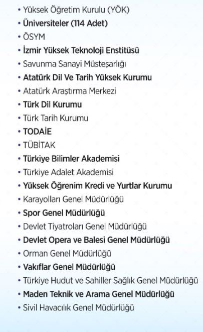 İşte taşeron işçilerin kadroya alınacağı tüm kurumların listesi