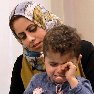 Mohammad ve Pêla, ilk kez annelerinin sesini duyunca ağladılar