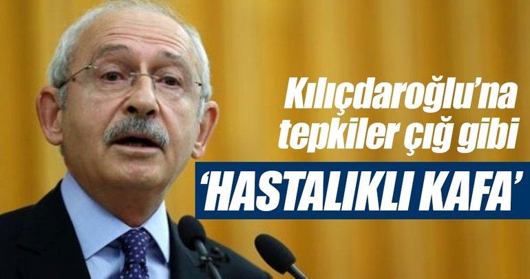Kılıçdaroğlu'na tepkiler çığ gibi: Hastalıklı kafa