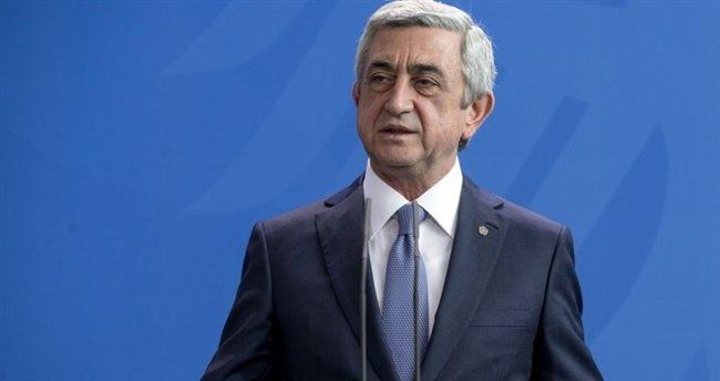 Sarkisyan: Aliyev ile görüşmeye hazırım