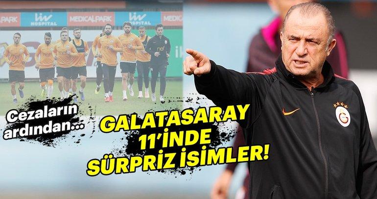 Kayserispor - Galatasaray muhtemel 11'ler