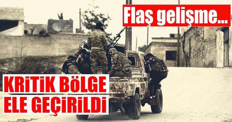 TSK, Afrin'deki o kritik bölgeyi ele geçirdi