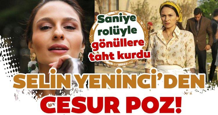 Bir zamanlar Çukurova'nın Saniye'si başarılı oyuncu Selin Yeninci'nin cesur pozu çok konuşulacak!