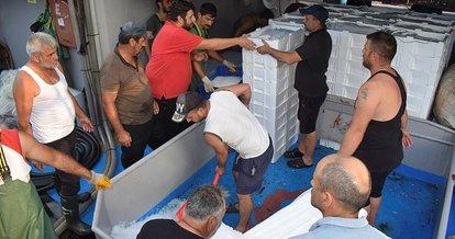 Balıkçılar Akçakoca limanına bol palamutla döndü