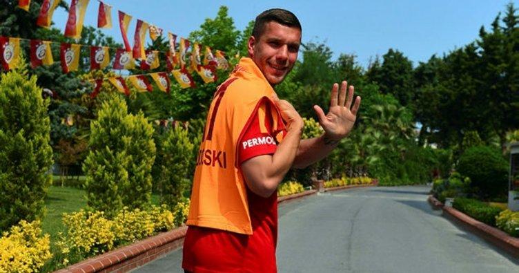 Podolski: Galatasaray'a dönmek isterim