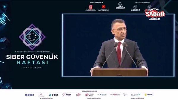 Son dakika! Cumhurbaşkanı Yardımcısı Fuat Oktay, konuşurken fenalaştı | Video