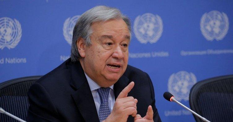Guterres'ten flaş İsrail açıklaması!
