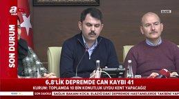 Çevre ve Şehircilik Bakanı Murat Kurum Toplamda 10 Bin konutluk uydu kent yapacağız