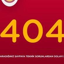 Galatasaray resmi sitesinde Tudor bulunamıyor!