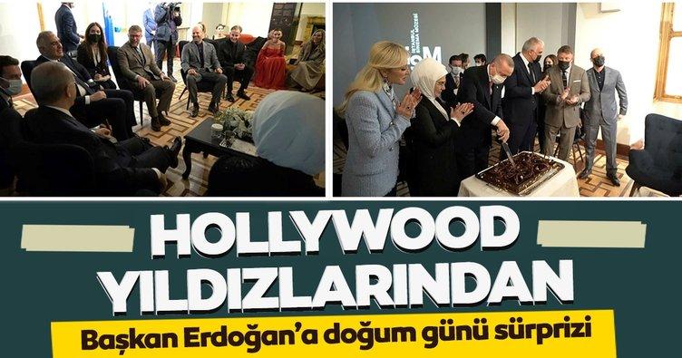 Hollywood yıldızları Başkan Erdoğan'ın doğum gününü kutladı