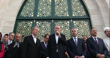 Mimarisiyle özgün camiyi Başkan Erdoğan açtı